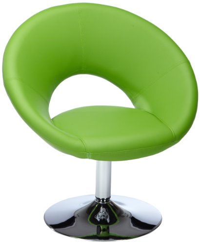 Amstyle Malta Loungesessel Relaxsessel Leder Optik Grün