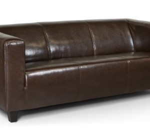 clubsofa rocket 3 sitzer vintage leder hell. Black Bedroom Furniture Sets. Home Design Ideas