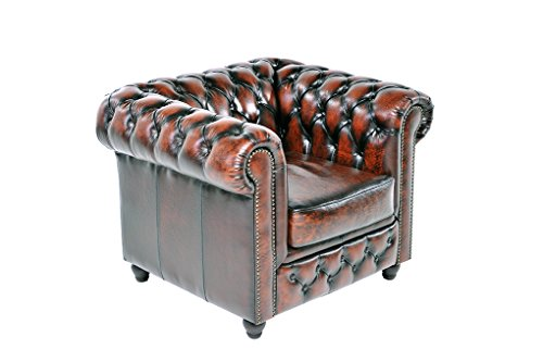 chesterfield showroom original chesterfield sofa couch 1 2 sitzer echtes leder. Black Bedroom Furniture Sets. Home Design Ideas