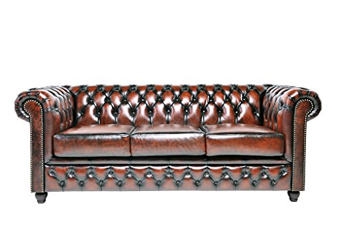 chesterfield showroom original chesterfield sofa couch 1 2 3 sitzer echtes leder. Black Bedroom Furniture Sets. Home Design Ideas