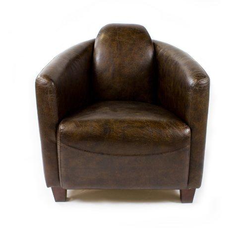 Ledersessel Design echtleder vintage sessel ledersessel design lounge clubsessel sofa