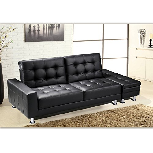 irla funktionssofa mit bluetooth schwarz schlafsofa sofa. Black Bedroom Furniture Sets. Home Design Ideas