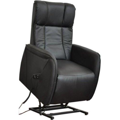 Home Sessel Ledersessel mit Aufstehhilfe LEIPZIG, 2 Motoren. Bezug aus ...
