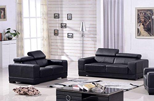 Ledersofa 3+2 Sofa Couch Sitzgarnitur Sofas Sitzgruppe 2017-3+2-S ...