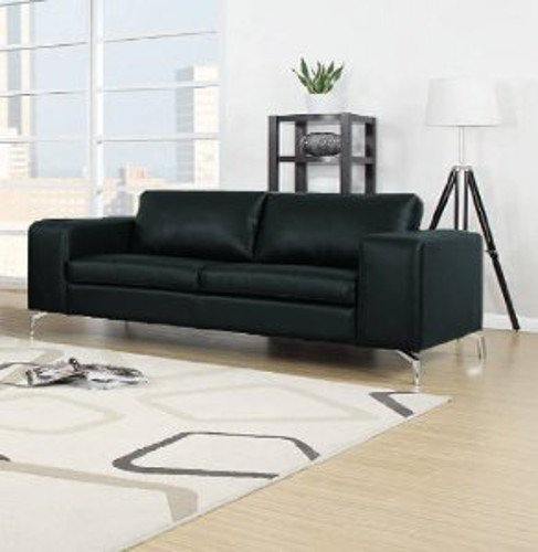 madison sofa set 3er 2er wohnlandschaft schwarz. Black Bedroom Furniture Sets. Home Design Ideas