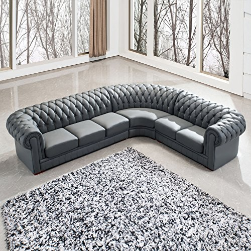 polsterecke chesterfield farbwahl ecksofa wohnlandschaft. Black Bedroom Furniture Sets. Home Design Ideas