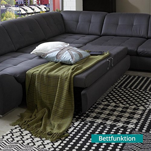 Sofa spike amazing buy fabric domino seater sofa set with for Sofa schlaffunktion bettkasten