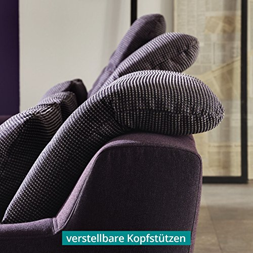 polsterecke wohnlandschaft sofa spike mit schlaffunktion. Black Bedroom Furniture Sets. Home Design Ideas