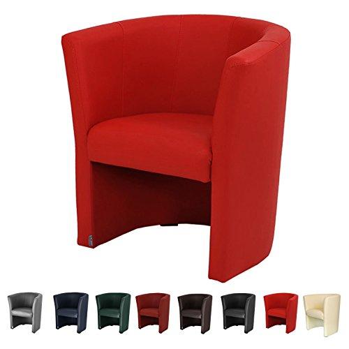 top sessel clubsessel loungesessel cocktailsessel kunstleder schwarz w042 01. Black Bedroom Furniture Sets. Home Design Ideas