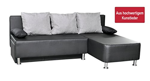 vcm 900066 ecksofa critona couch mit schlaffunktion. Black Bedroom Furniture Sets. Home Design Ideas
