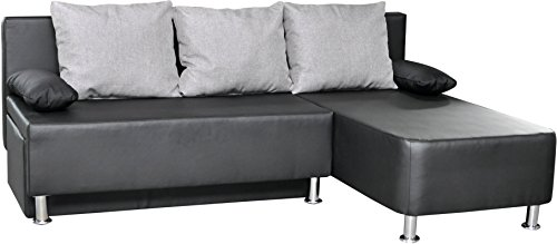 vcm 900066 ecksofa critona couch mit schlaffunktion. Black Bedroom Furniture Sets. Home Design Ideas