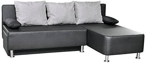 ecksofa leder mit bettfunktion inspirierendes design f r wohnm bel. Black Bedroom Furniture Sets. Home Design Ideas
